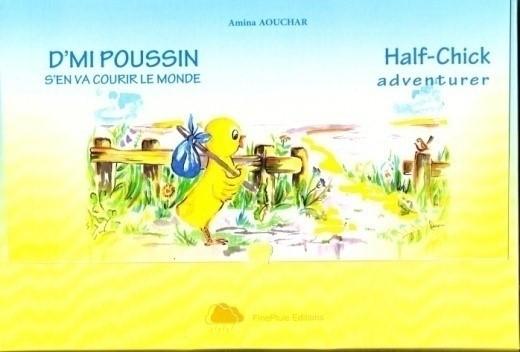 D'mi Poussin s'en va courir le monde (Coffret trilingue, français, arabe, anglais)