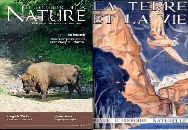 LE COURRIER DE LA NATURE + LA TERRE ET LA VIE