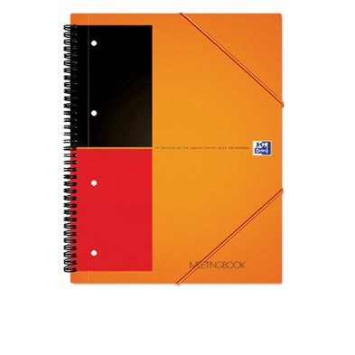 Cahier Oxford Meeting Book A4+ / 160 pages quadrillées