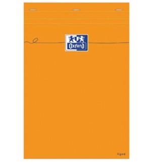 Bloc Note Oxford AGRAFE A6 (10x15)  160 pages quadrillées