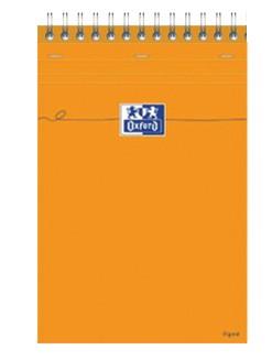 Bloc Note Oxford  RELIE  A4 160 pages quadrillées