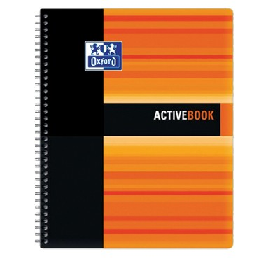 Cahier Oxford STUDENT Active Book A4+ / 160 pages quadrillées