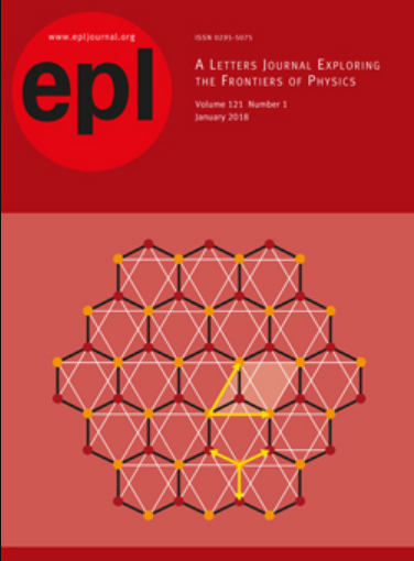 EPL - EUROPHYSICS LETTERS