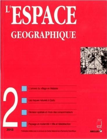L'ESPACE GEOGRAPHIQUE